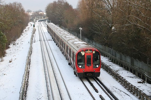 Leaving West Harrow In The Snow