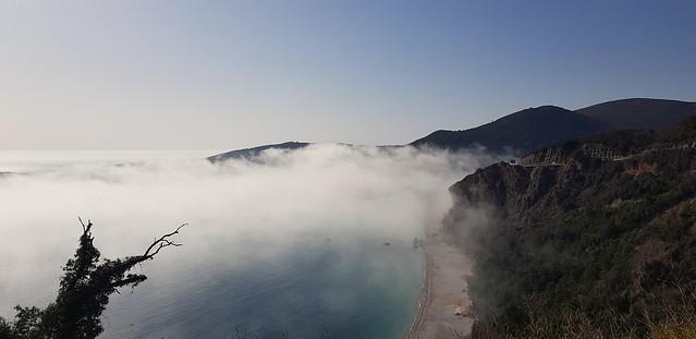 Magla iznad jaza