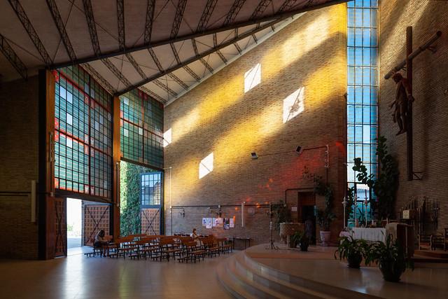 Miguel Fisac. Iglesia Nuestra Señora del Carmen #6