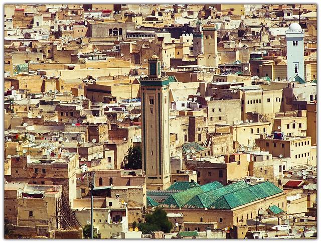 Panorama di FEZ_ Marocco