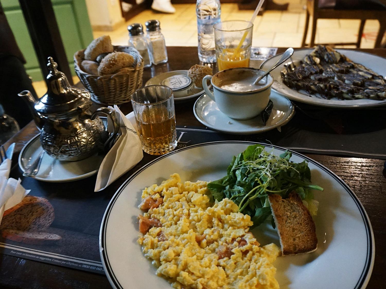 Paul cafe breakfast