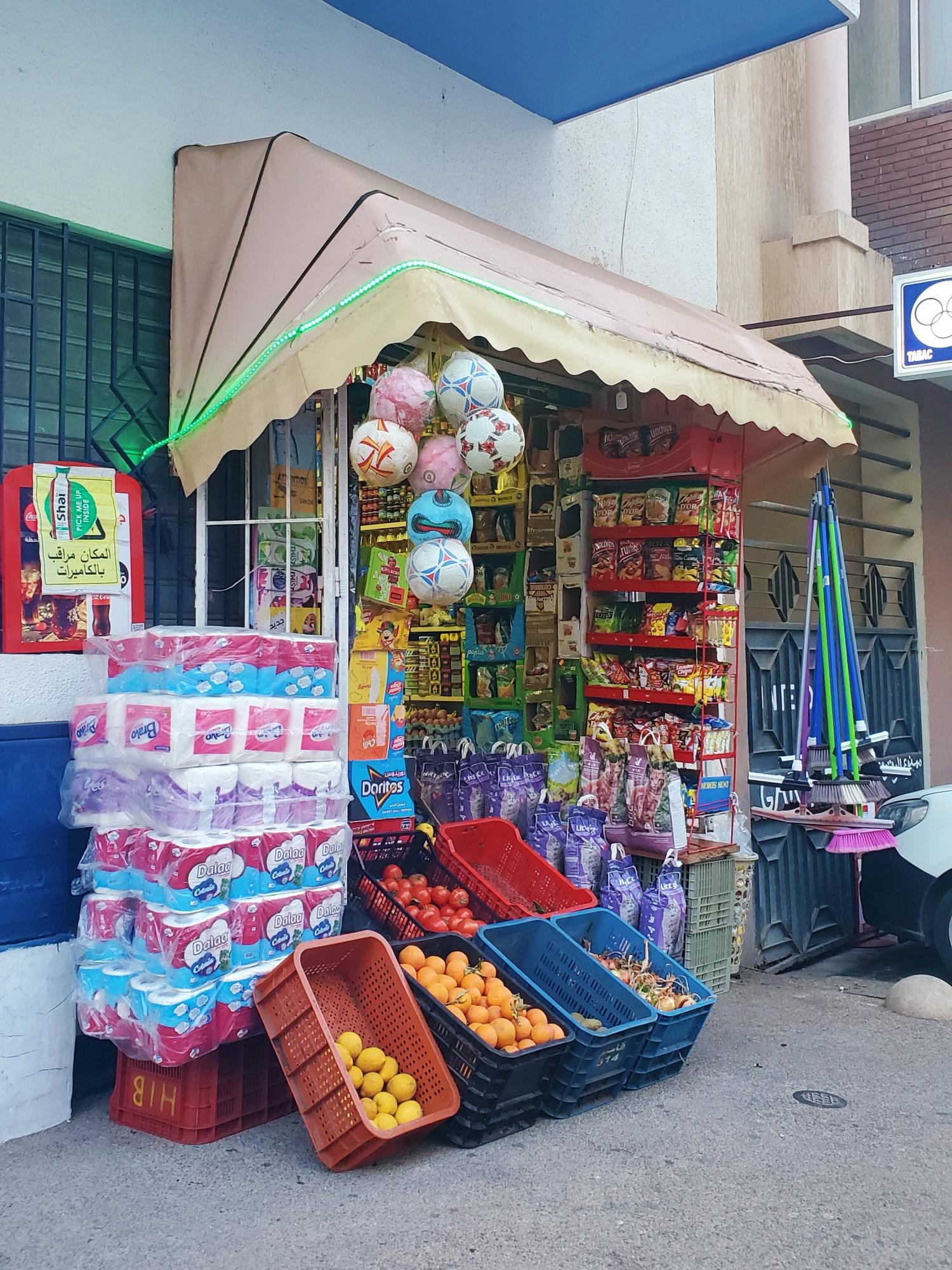 Morocco convenience store