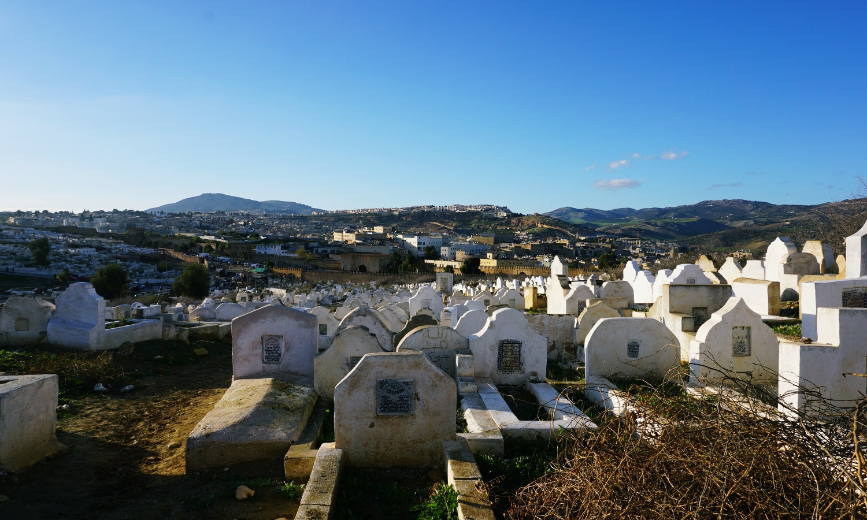 Fes cemetery medina