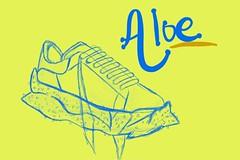 Aloe shoe sketch