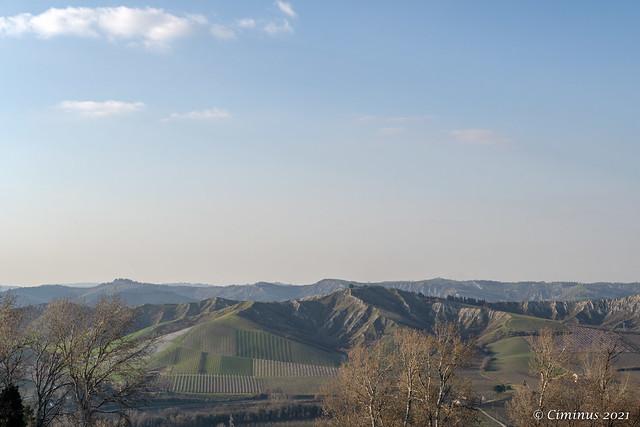 Hills and Badlands (Emilia Romagna, Italy).