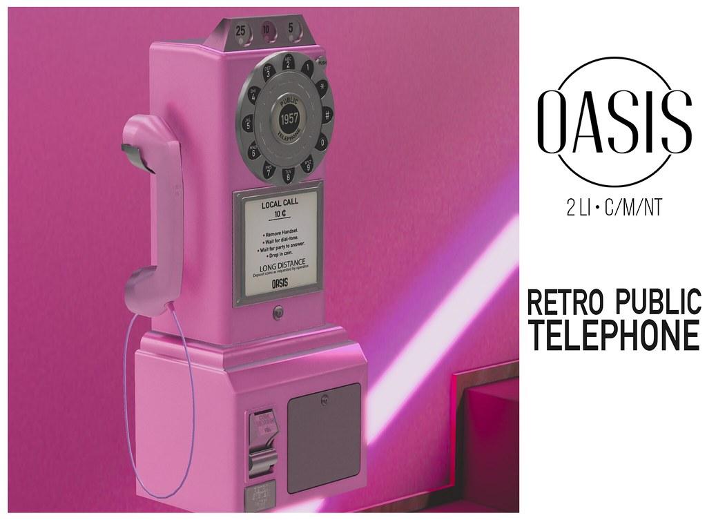 Oasis: Retro Public Telephone