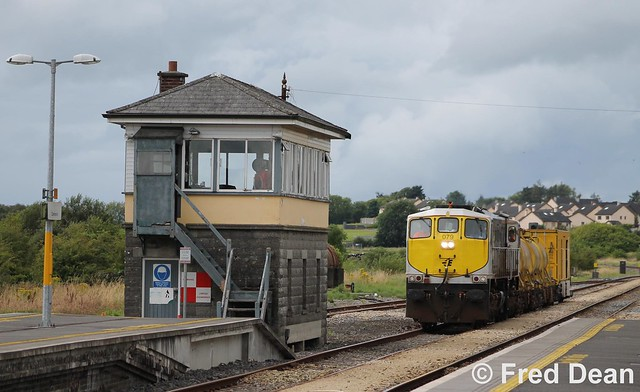 Irish Rail 079 in Claremorris.