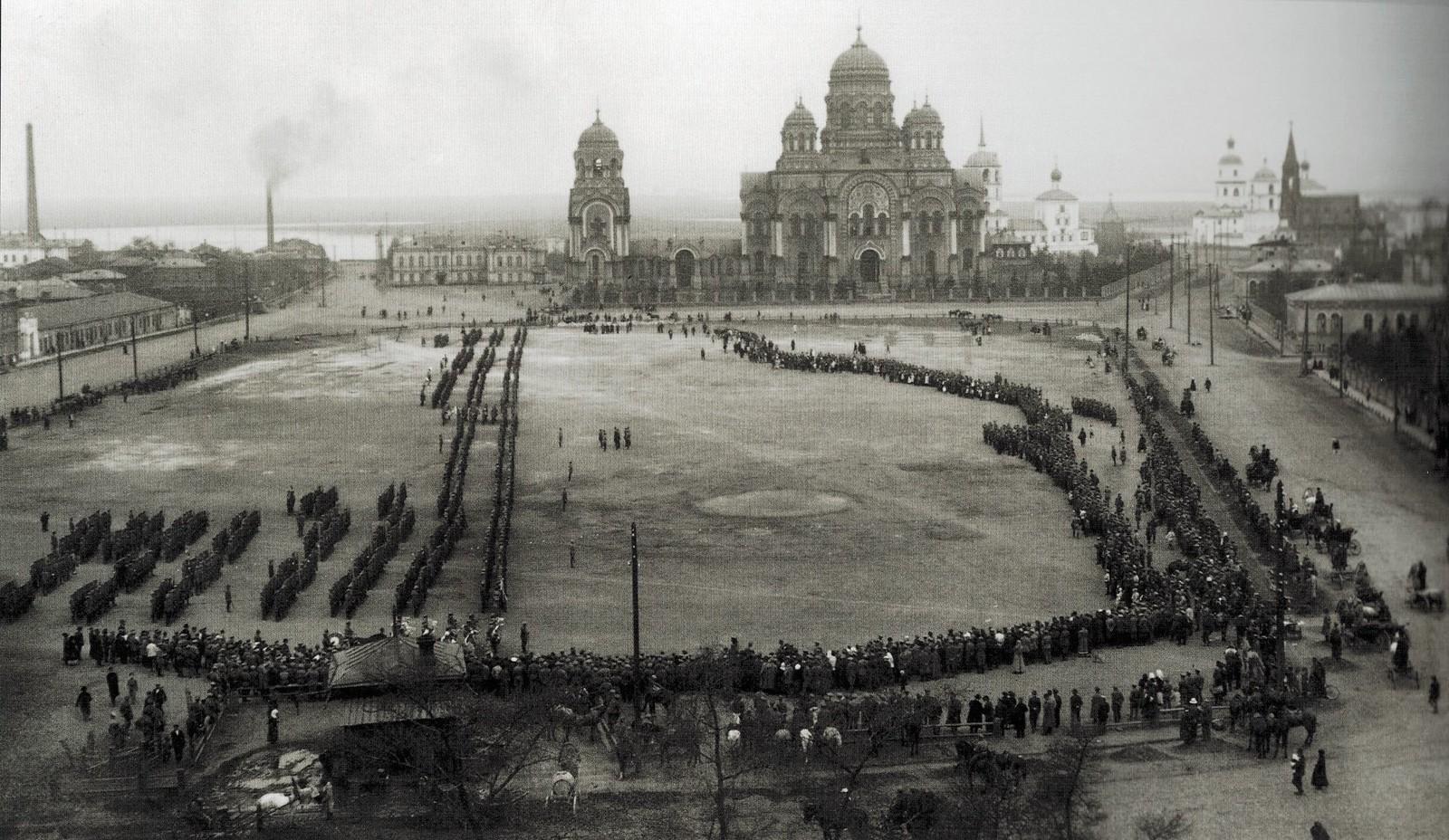 16. Тихвинская площадь. 1919
