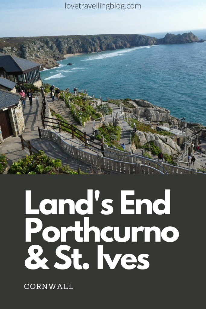Land's End, Porthcurno and St. Ives, Cornwall