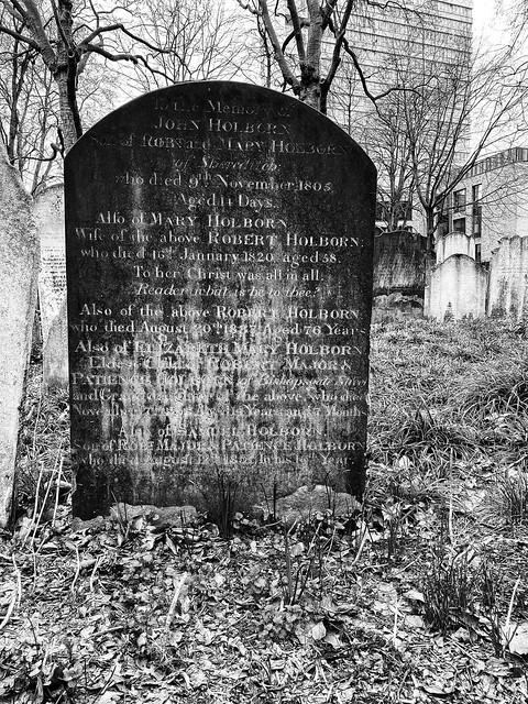 Bunhill Fields Burial Grounds
