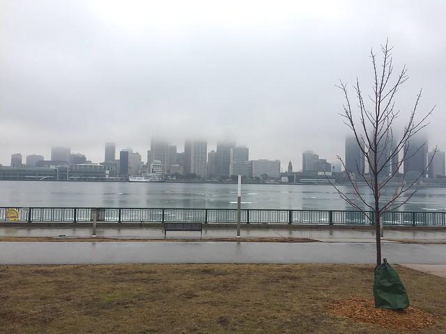 Detroit Skyline in the morning