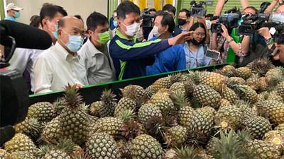 中國疫苗與台灣鳳梨