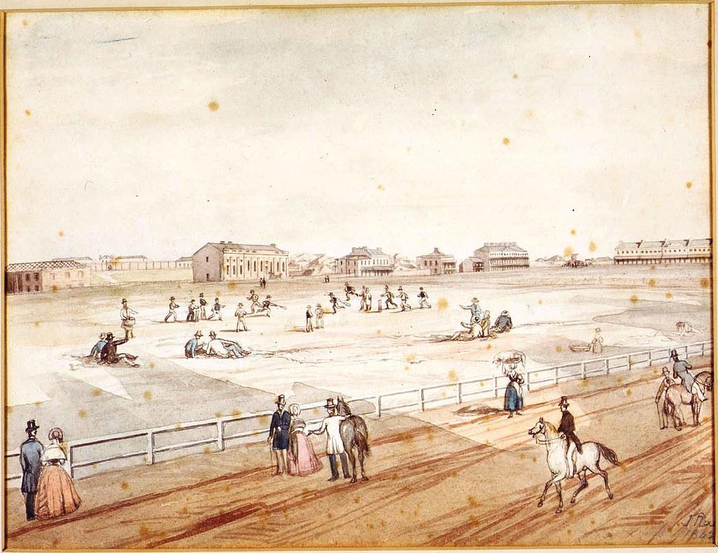 302. Hyde Park, Museum, Darlinghurst Gaol, Sydney Grammar School, Burdekin & Lyons Estates 1842