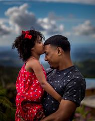 Daughter's kiss