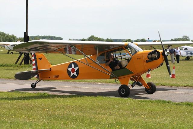 G-BSFD (16038) Piper J3C-65 Cub