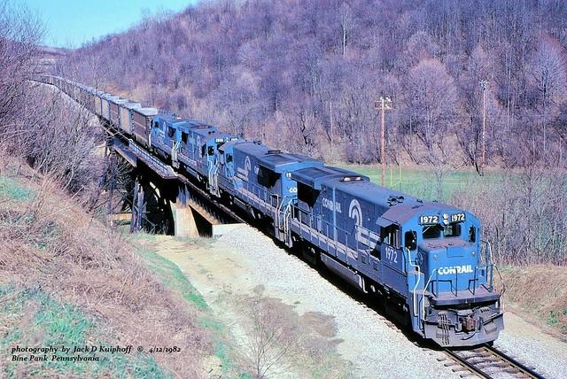 CR 1972-1975-1910-1971, MGA, Pine Bank, PA. 4-02-1982