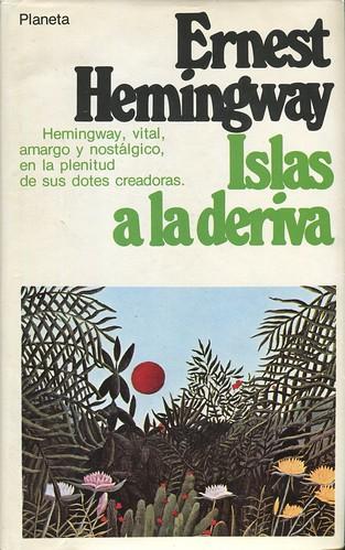 Portada del Libro Islas a la Deriva de Ernest Hemingway. Editorial Planeta 1972