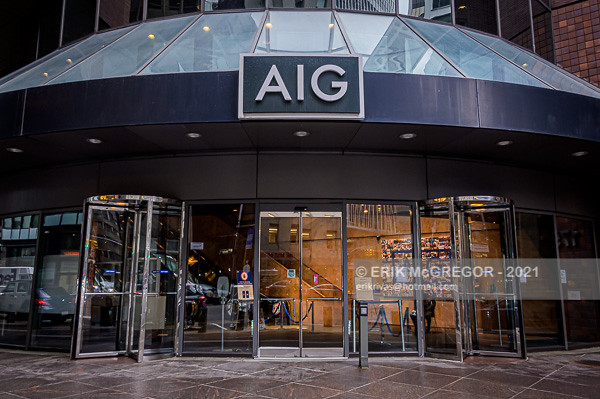 NYC Activists Welcome New AIG CEO And Demand To Stop Insuring Fossil Fuels