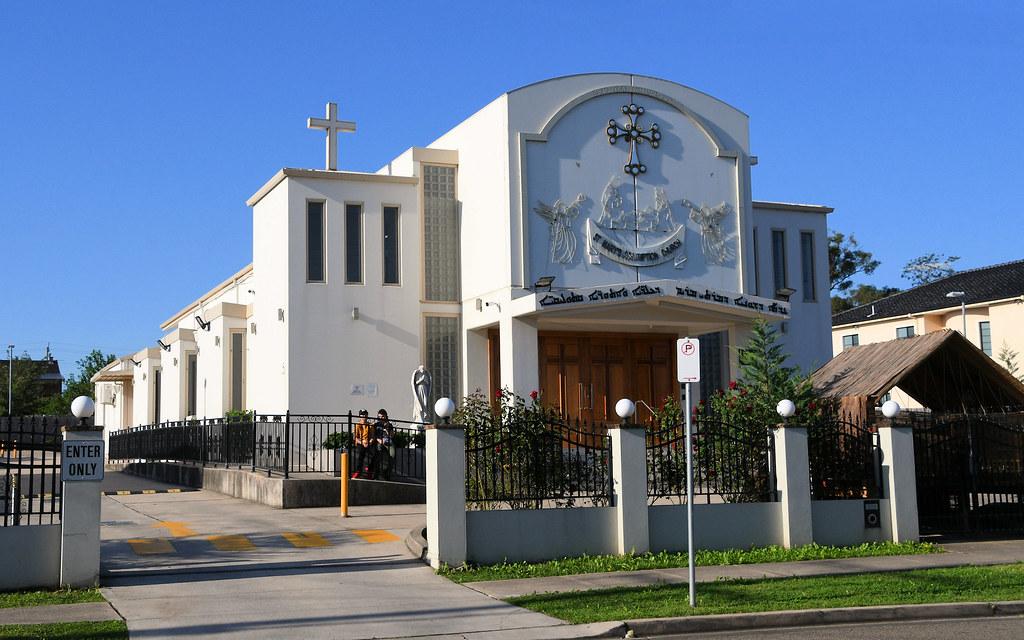 St Mary's Assumption Chaldean Catholic Church, Fairfield, Sydney, NSW.