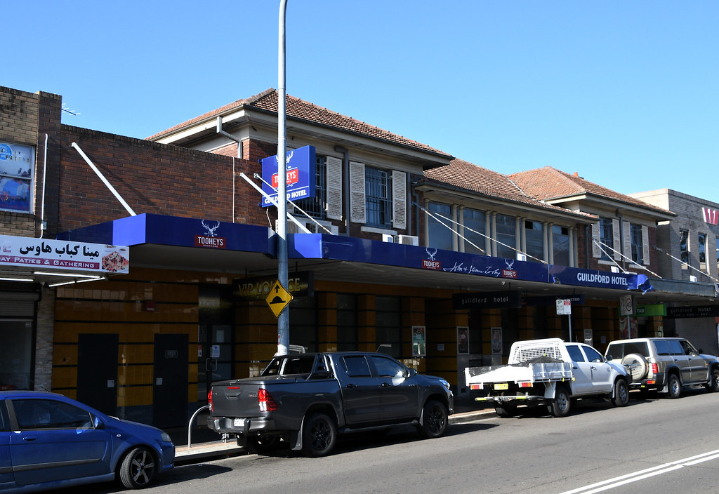 Guilford Hotel, Guilford, Sydney, NSW.