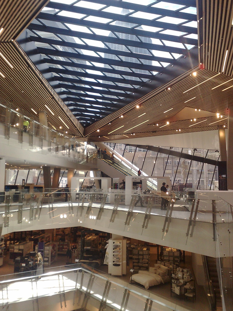 Myer Melbourne shortly after opening following renovations, February 2011