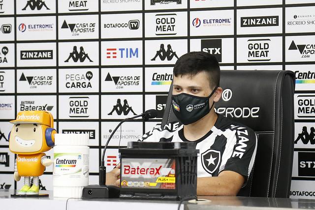 Apresentação de Ronald do Botafogo - 01/03/2021