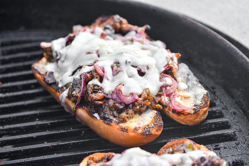 Shawarma-spiced Cheesesteaks