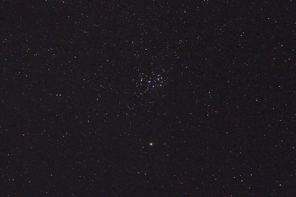 The Pleiades and Mars