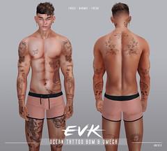 [ E V K ] Ocean Tattoo