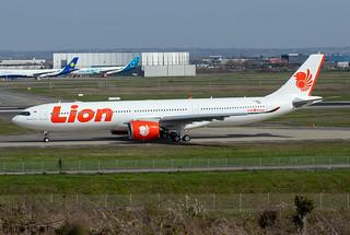 F-WWCT / PK-LEU Airbus A330-941 Lion Air s/n 1984 - First flight * Toulouse Blagnac 2021 *