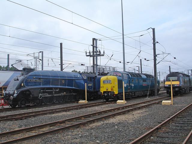 A4 Pacific 60007 Class 55 55022 Class 43 43068