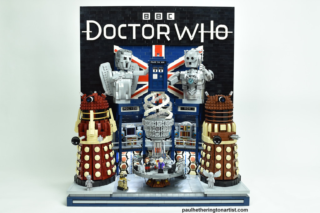 LEGO Doctor Who Tribute