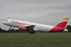 EC-MBU Airbus A320-214 Iberia Express