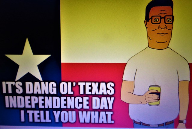 HAPPY TEXAS INDEPENDENCE DAY