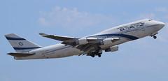 4X-ELA   El Al Israel Airlines   747-458   Barcelona/BCN