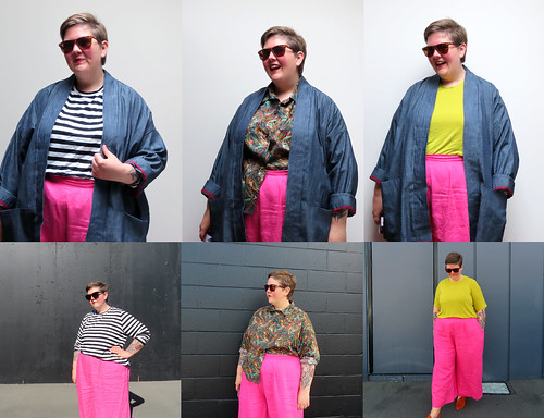 Pink Belmore Capsule Collage
