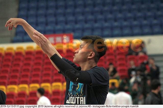 2019-12-15 0111 SBL Basketball Bank of Taiwan v Jeoutai (Jutai)