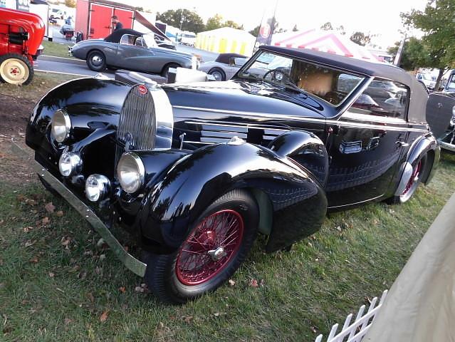 1938 Bugatti Type 57 Stelvio Cabriolet by Gangloff