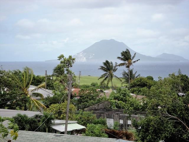 St. Eustatius from the St. Kitts Sugar Train