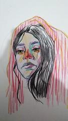 Random Colour Sketch