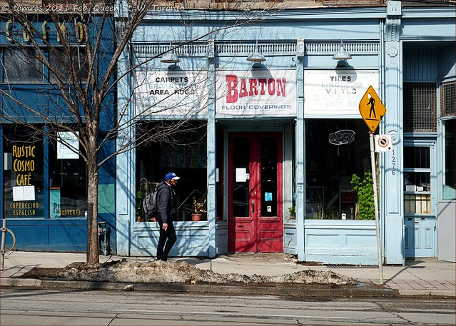 'Barton' on Queen West. Parkdale, Toronto