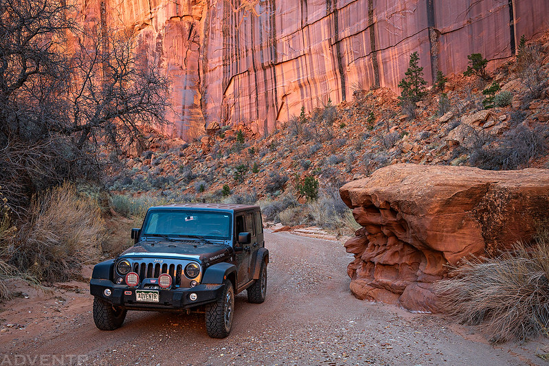 ADVENTR Jeep in Horse Canyon