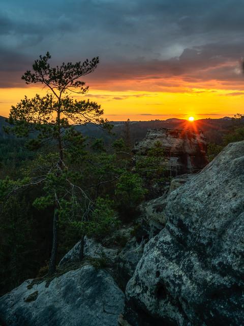 The last view at the sun - Der letzte Blick auf die Sonne