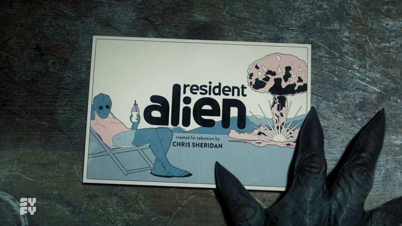 Resident Alien drehort