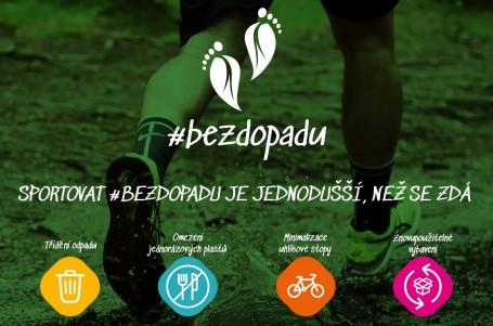 Sportování s ohledem na životní prostředí. Přidejte se k iniciativě #bezdopadu!
