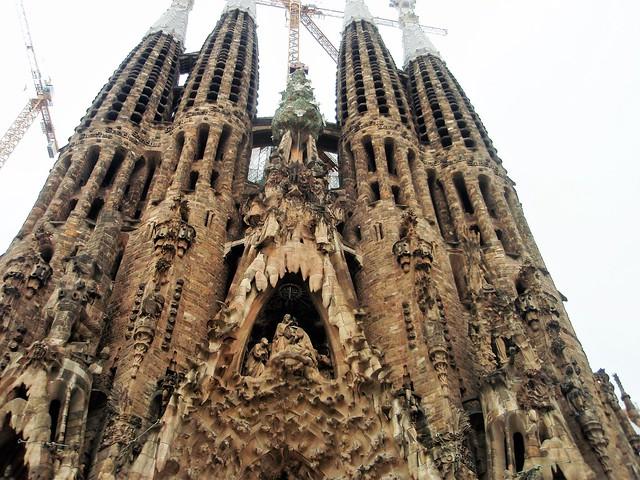 Barcelona, Sagrada Familia - in explore