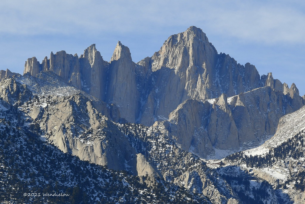 Mount Whitney stands at 14,505'