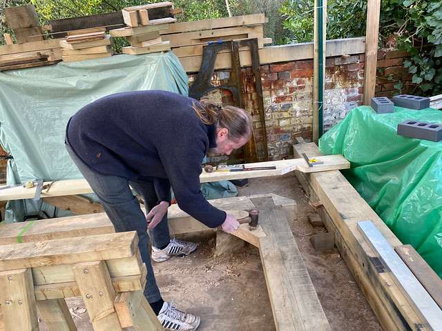 Ben working on a hip brace - 2