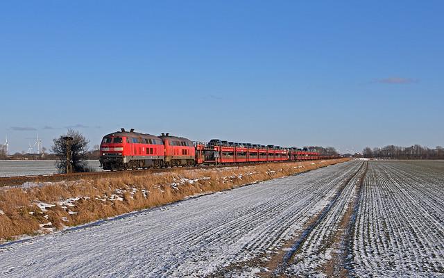 DB 218 345-7 + 218 366-3 - Gotteskoog
