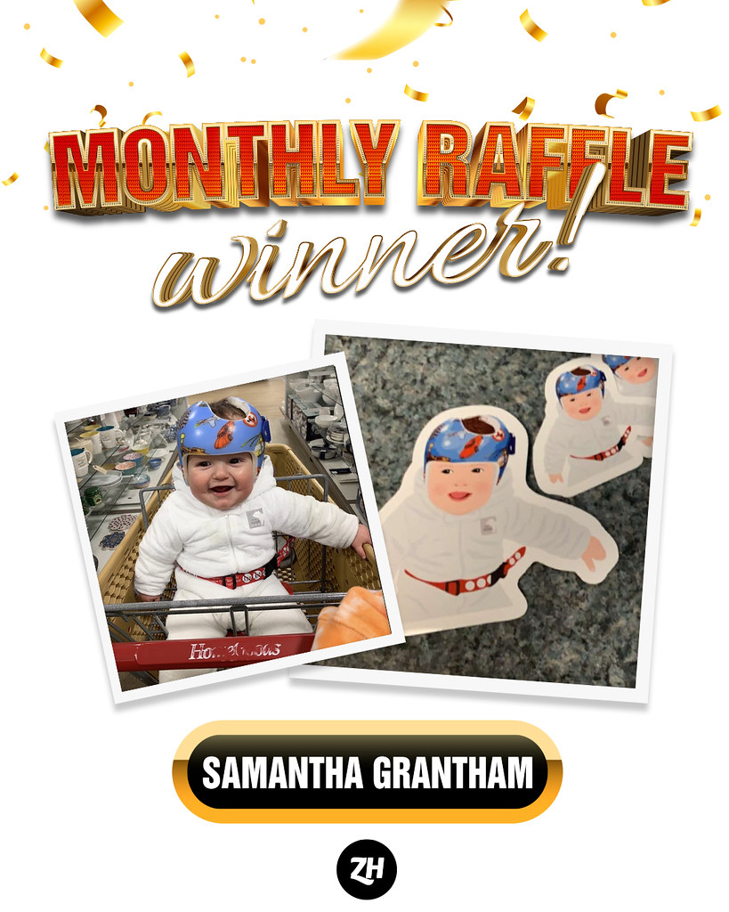 You've got it, Samantha Graham! You won the February raffle draw. Thanks for the pleasure of doing business with you. Way to go!